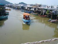 Tai O Fishing Village Landscape Hong Kong