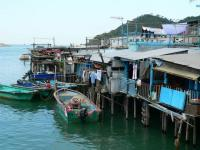 Tai O Fishing Village Boats Hong Kong