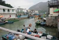 Tai O Fishing Village Scenery Hong Kong