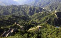 Badaling Great Wall Spring Scenery