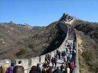 Badaling Great Wall and Visitors