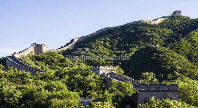 Winding Badaling Great Wall Beijing