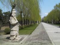 Officials Sculptures at Beijing Shen Dao