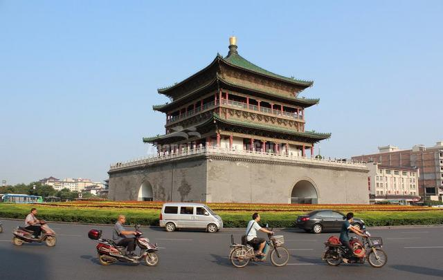 Attractive Bell Tower Xian