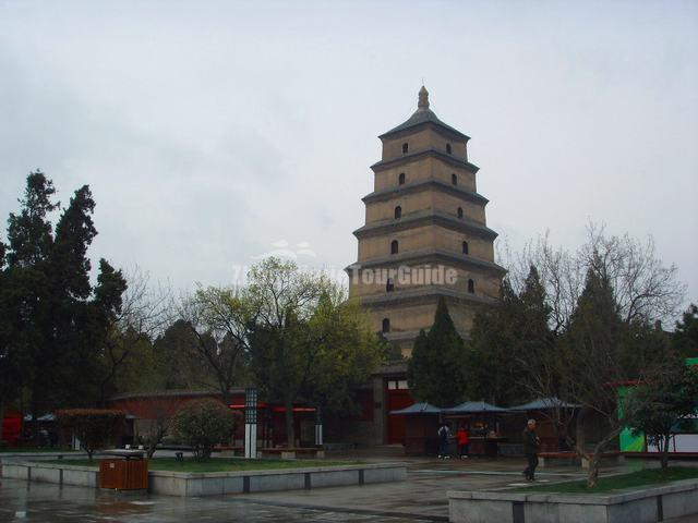 Big Wild Goose Pagoda Xian China