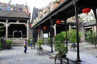 Beautiful Building at Ancestral Temple of the Chen Family China
