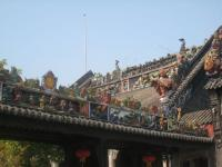 Beautiful Eave at Ancestral Temple of the Chen Family Guangzhou