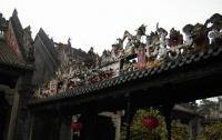 A Eave of Ancestral Temple of the Chen Family Guangzhou
