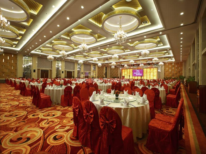 Dacheng shanshui international hotel banquet hall for Banquet hall designs layout
