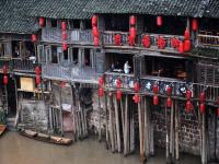 The Stilted Buildings in Fenghuang Old Town