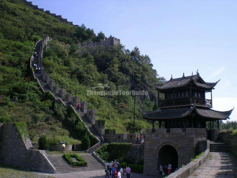 China Southern Great Wall in Fenghuang Ancient City
