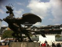 Phoenix is the Symbol of Fenghuang Old Town