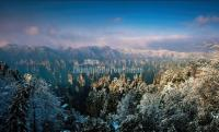 First Winter Snow in Zhangjiajie
