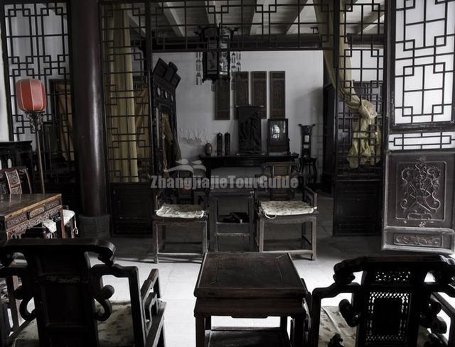 Gao Family Courtyard House Wooden Furnitures Xian