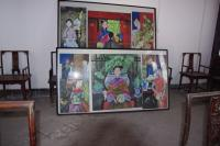 Paintings at Gao Family Courtyard House Xian China