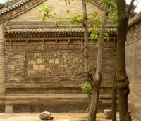 Xian Grand Mosque Carved Wall