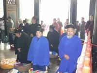 The Taoists in Chengdu Green Ram Temple