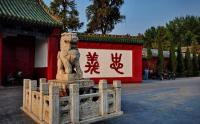 Guanlin Temple Stone Lion Luoyang