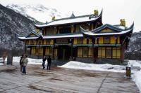 Huanglong Ancient Temple Winter
