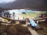 Huanglong Scenic Area Pond