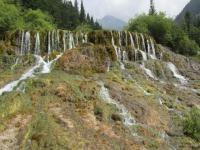 Huanglong Beautiful Waterfall