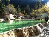 Huanglong Beautiful Pond Sichuan