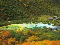 Huanglong Multi-Colored Pond