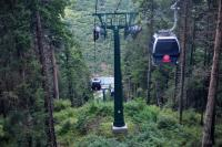 Cable Car in Huanglong Natural Reserve