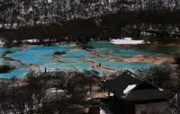 Huanglong Multi-Colored Pond Winter