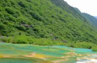 Huanglong Guests Welcome Pond Spring