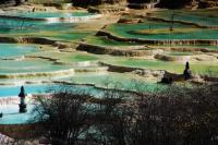 Huanglong Beautiful Multi-Colored Pond