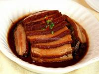 Hunan Cuisine-Steamed Pork Belly with Preserved Greens