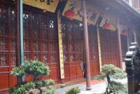 Jade Buddha Temple Wooden Structure House Shanghai