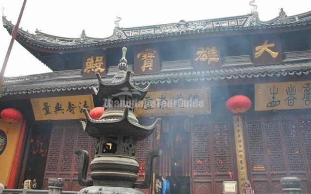 The Main Palace of Jade Buddha Temple Shanghai