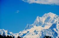 Jade Dragon Snow Mountain Beautiful Scenery Yunnan
