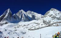 Jade Dragon Snow Mountain Beautiful Snow Lijiang