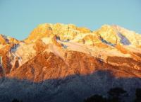 Jade Dragon Snow Mountain Sunset Scenery Lijiang