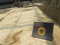 Excavation Spot for The Sun and Immortal Bird at Jin Sha Site Museum