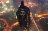 Shanghai Jinmao Tower Night Scene