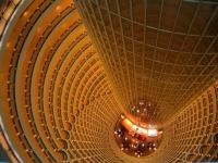 Jinmao Tower Spectacular Interior Structure