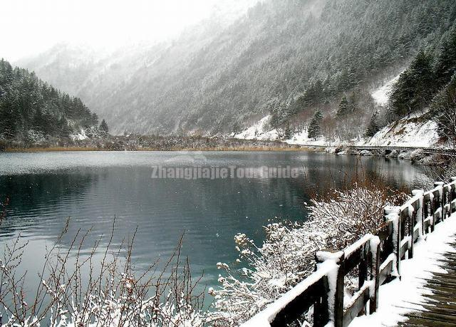 Jiuzhaigou Valley Winter