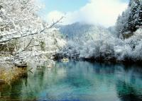 Jiuzhaigou Park Winter
