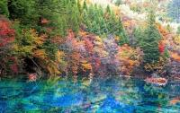Jiuzhaigou Scenery Autumn