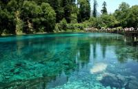 Jiuzhaigou Charming Five-Color Pond
