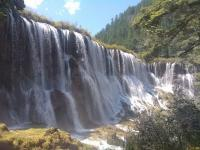 A Waterfall in Jiuzhaigou Valley