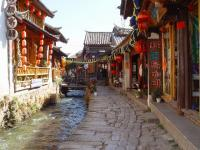 Lijiang Old Town Alley