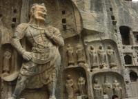 Longmen Grottoes Spectacular Figure of Buddha Sculptures China