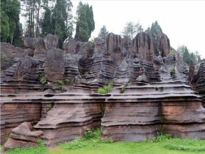 Red Stone Forest China
