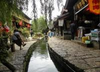 Shuhe Old Town Attractive Scenery Lijiang