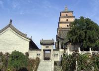 Small Goose Pagoda Architecture Xian